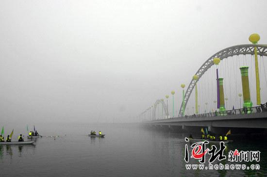 依托清水河,洋河建设城市水系